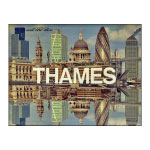 A logo for Thames TV